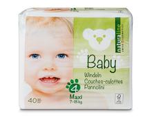 Z.B. Coop Naturaline Baby Windeln Maxi, Grösse 4, 3 x 40 Stück 27.90 statt 41.85