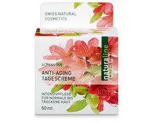 Z.B. Coop Naturaline Cosmetics Anti-Aging-Creme, normale bis trockene Haut, 50 ml 9.70 statt 12.95