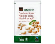 Z.B. Coop Naturaplan Bio-Cashewnüsse, Fairtrade Max Havelaar, 150 g 3.75 statt 4.70