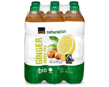Z.B. Coop Naturaplan Bio-Green Tea Ginger, Fairtrade Max Havelaar, 6 x 1,5 Liter 9.95 statt 14.95