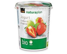 Z.B. Coop Naturaplan Bio-Jogurt Erdbeere, 500 g<br /> 1.55 statt 1.95