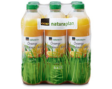 Z.B. Coop Naturaplan Bio-Orangensaft, 6 x 1 Liter 15.95 statt 19.95