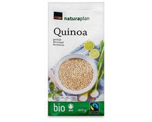 Z.B. Coop Naturaplan Bio-Quinoa, Fairtrade Max Havelaar, 400 g 3.95 statt 4.95