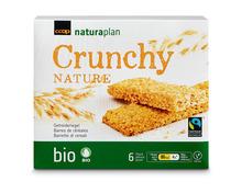 Z.B. Coop Naturaplan Bio-Riegel Crunchy Nature, Fairtrade Max Havelaar, 6 x 19 g 2.95 statt 3.95