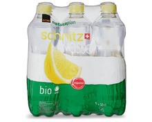 Z.B. Coop Naturaplan Bio-Schnitzwasser, 6 x 50 cl 4.75 statt 5.95