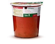 Z.B. Coop Naturaplan Bio-Tomatensuppe, gekühlt, 300 ml 3.00 statt 3.80