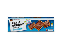 Z.B. Coop Petit Beurre Chocolat au Lait, Fairtrade Max Havelaar, 150 g 2.00 statt 2.50