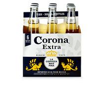 Z.B. Corona Extra Bier, 6 x 35,5 cl 11.40 statt 15.20