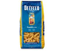 Z.B. De Cecco Fusilli Nr. 34, 500 g 1.95 statt 2.80