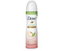 Z.B. Dove Deo Aerosol Peach/Lemon 0% Aluminiumsalze, 75 ml 2.85 statt 3.85