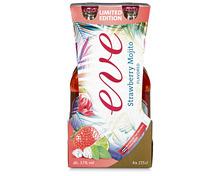 Z.B. Eve Strawberry Mojito, 4 x 27,5 cl 7.60 statt 9.50