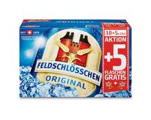 Z.B. Feldschlösschen Original, 15 x 33 cl 11.90 statt 17.85