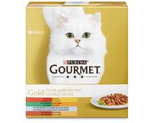 Z.B. Gourmet Gold Feine Komposition, 8 x 85 g 5.10 statt 6.40
