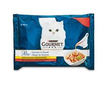Z.B. Gourmet Perle Genuss in Sauce mit Fleisch, 4 x 85 g 3.80 statt 4.75