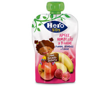 Z.B. Hero Kids Apfel, Himbeere & Banane, im Quetschbeutel, 120 g 1.50 statt 1.90