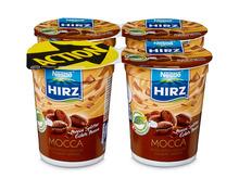Z.B. Hirz Jogurt Mocca, 4 x 180 g 3.65 statt 4.60