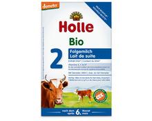 Z.B. Holle Bio-Folgemilch 2, Demeter, 600 g 13.55 statt 16.95