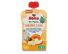 Z.B. Holle Quetschbeutel Banana Lama