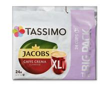 Z.B. Jacobs Tassimo Caffè Crema Classico XL, Big Pack, 24 Kapseln 6.75 statt 9.65