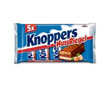 Z.B. Knoppers Nussriegel, 5 x 40 g 2.60 statt 3.25