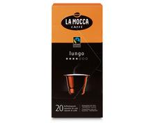 Z.B. La Mocca Lungo, Fairtrade Max Havelaar, 20 Kapseln
