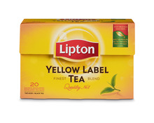 Z.B. Lipton Yellow Label Tea, 20 Portionen 1.90 statt 2.40