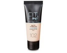 Z.B. Maybelline Foundation Fit Me Mat & Poreless 102 Fair 9.00 statt 12.90