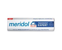 Z.B. Meridol Parodont Expert Zahnpasta, 2 x 75 ml, Duo 10.95 statt 13.80