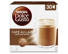 Z.B. Nescafé Dolce Gusto Café au Lait, 30 Kapseln 7.65 statt 10.95