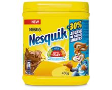 Z.B. Nesquik mit weniger Zucker, 450 g 5.55 statt 6.95