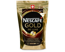 Z.B. Nestlé Nescafé Gold de Luxe, Beutel, 180 g 8.80 statt 11.00