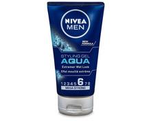 Z.B. Nivea Men Styling Gel Aqua, 150 ml 3.05 statt 4.10