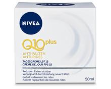 Z.B. Nivea Visage Q10plus Anti-Falten-Tagescreme, 50 ml 8.65 statt 12.40