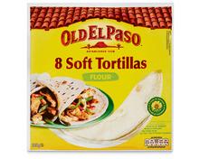 Z.B. Old el Paso Flour Tortillas, 8 Stück, 326 g<br /> 3.80 statt 4.80