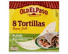 Z.B. Old el Paso Flour Tortillas, 8 Stück, 326 g 3.95 statt 4.95