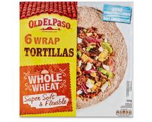 Z.B. Old El Paso Vollkorn Wrap Tortillas, 350 g 4.45 statt 5.60