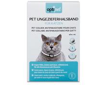 Z.B. Optipet Ungezieferhalsband für Katzen