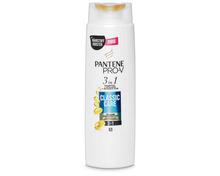 Z.B. Pantène Pro-V 3in1 Shampoo Classic Care, 250 ml 3.15 statt 4.20