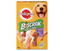 Z.B. Pedigree Biscrok Original, 500 g 0.95 statt 1.90