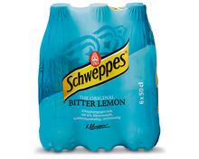 Z.B. Schweppes Bitter Lemon, 6 x 50 cl 5.95 statt 8.70