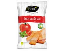 Z.B. Snatt's Brotsnack Tomate und Oregano, 120 g 1.95 statt 2.95