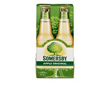 Z.B. Somersby Apple Original, 4 x 33 cl 7.15 statt 8.95