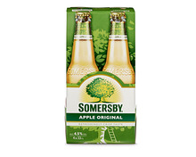 Z.B. Somersby Apple Original, 4 x 33 cl 7.15 statt 8.95