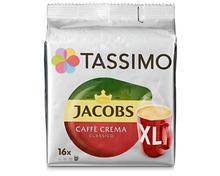 Z.B. Tassimo caffè crema XL, 3 x 16 Kapseln 13.90 statt 20.85