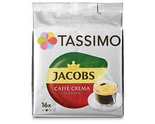 Z.B. Tassimo Jacobs caffè crema classico, 16 Kapseln 4.15 statt 5.95