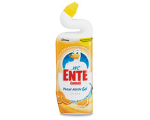 Z.B. WC-Ente Gel Total Aktiv Citrus, 750 ml 3.60 statt 4.50
