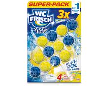 Z.B. WC Frisch Kraft-Aktiv Lemon, 3 x 50 g, Multipack 7.90 statt 11.85
