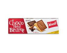 Z.B. Wernli Choco Petit Beurre assortiert, 4 x 125 g, Multipack<br /> 9.10 statt 14.00