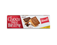 Z.B. Wernli Choco Petit Beurre assortiert, 4 x 125 g, Quattro 9.80 statt 14.00