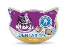 Z.B. Whiskas Dentabites mit Huhn, 40 g 1.55 statt 1.95